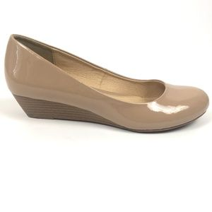 Chinese Laundry Ballet Flat Wedge Patent Leather